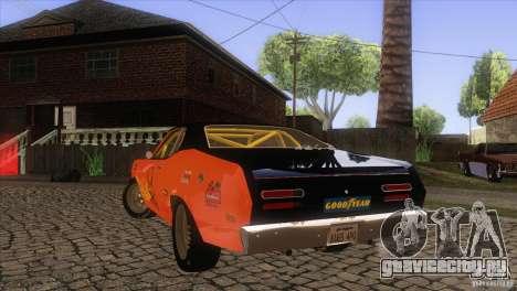 Plymouth Duster 440 для GTA San Andreas двигатель