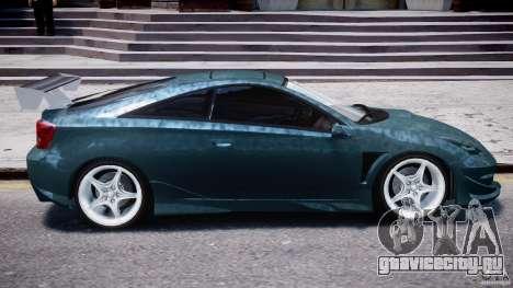 Toyota Celica Tuned 2001 v1.0 для GTA 4 вид снизу