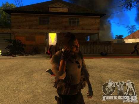 Animation Mod для GTA San Andreas шестой скриншот