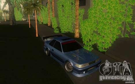 Toyota Soarer GZ20 для GTA San Andreas вид сзади