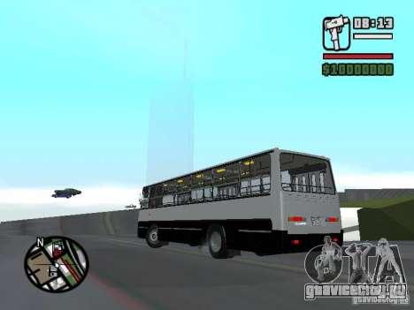 Ikarus 260.06 для GTA San Andreas вид слева