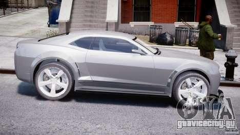 Chevrolet Camaro 2009 для GTA 4 вид сзади