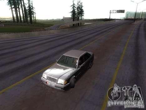 Mercedes-Benz E500 W124 для GTA San Andreas вид справа