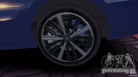 Peugeot 508 Final для GTA 4 вид сзади