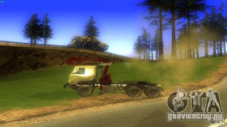 Kamaz для GTA San Andreas вид слева