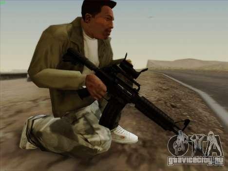 Colt Commando Aimpoint для GTA San Andreas второй скриншот