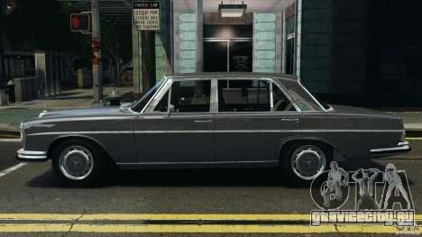 Mercedes-Benz 300Sel 1971 v1.0 для GTA 4 вид слева