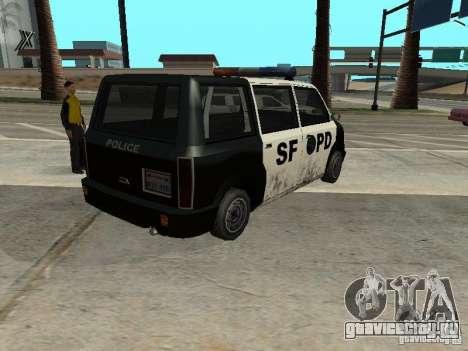 Moonbeam Police для GTA San Andreas вид слева