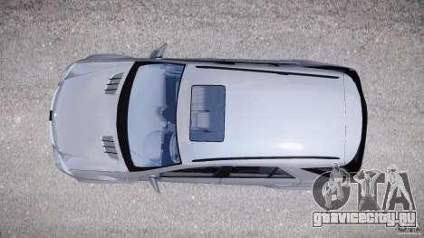 Mercedes-Benz ML63 AMG v2.0 для GTA 4 вид справа