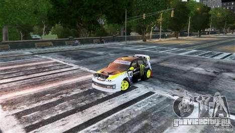 Subaru Impreza WRX STI Rallycross Monster Energy для GTA 4