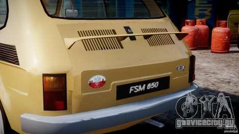 Fiat 126p 1976 для GTA 4