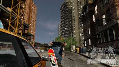 Скейтборд №3 для GTA 4 вид справа