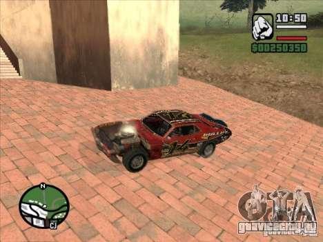 FlatOut bullet для GTA San Andreas вид сзади