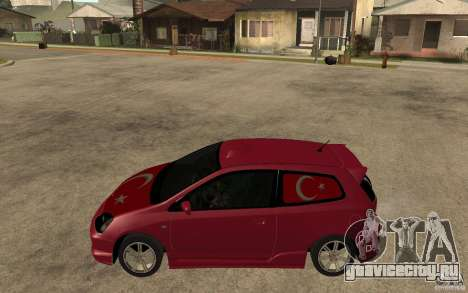 Honda Civic Type R для GTA San Andreas вид слева