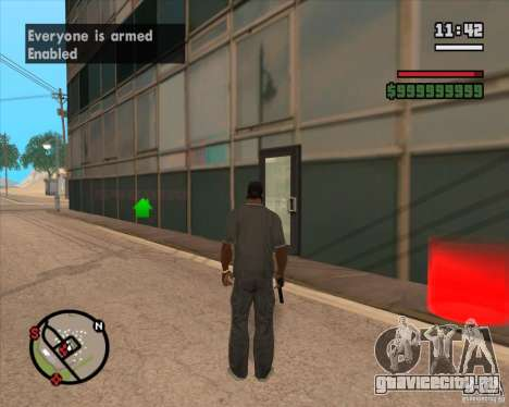 CJ - Мэр для GTA San Andreas второй скриншот