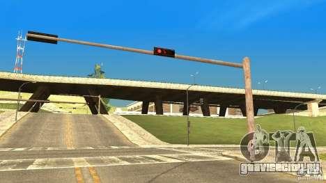Ржавые светофоры для GTA San Andreas второй скриншот