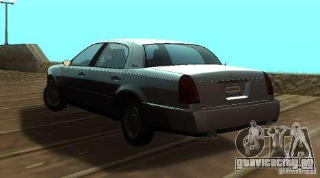 Washington из GTA IV для GTA San Andreas вид слева