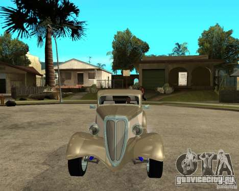 Ford 1934 Coupe v2 для GTA San Andreas