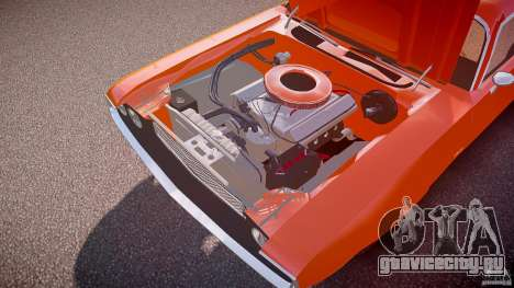Dodge Challenger v1.0 1970 для GTA 4 вид снизу
