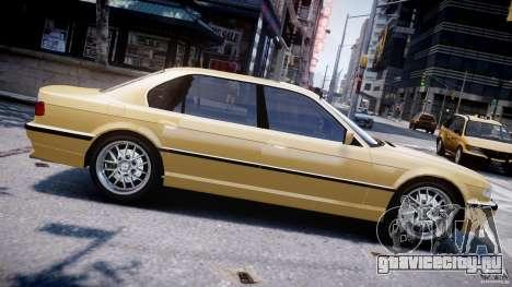 BMW 750i v1.5 для GTA 4 вид слева