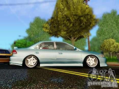 Honda Accord 2001 для GTA San Andreas вид сзади слева