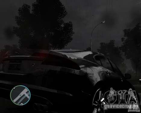 Jaguar XF-R для GTA 4 вид сзади