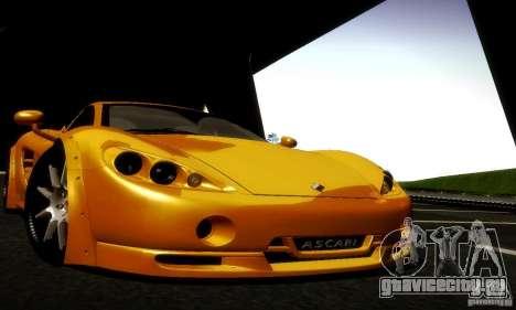 Ascari KZ1R Limited Edition для GTA San Andreas вид сбоку