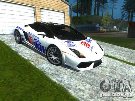 Lamborghini Gallardo LP560-4 для GTA San Andreas вид сверху
