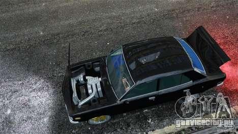 Mazda RX3 для GTA 4 вид изнутри