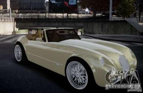 Wiesmann MF3 Roadster Final для GTA 4 вид сзади слева