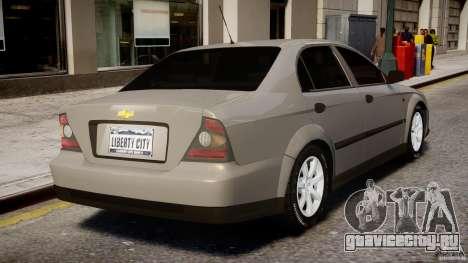 Chevrolet Evanda для GTA 4 салон
