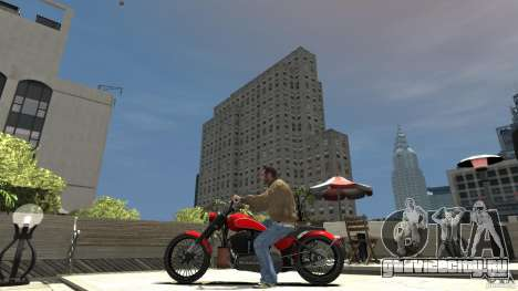 The Lost and Damned Bikes Nightblade для GTA 4