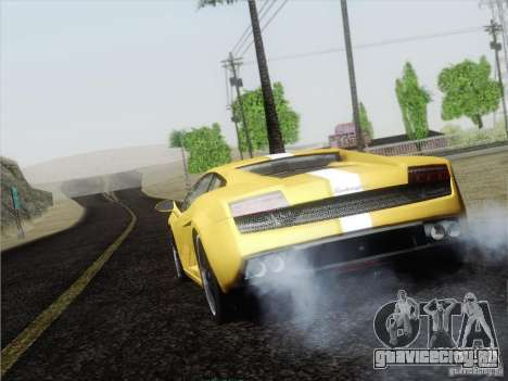 Lamborghini Gallardo LP640 Vallentino Balboni для GTA San Andreas вид справа