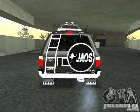 Toyota Surf v2.1 для GTA San Andreas вид сбоку