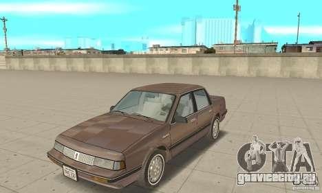 Oldsmobile Cutlass Ciera 1993 для GTA San Andreas вид слева