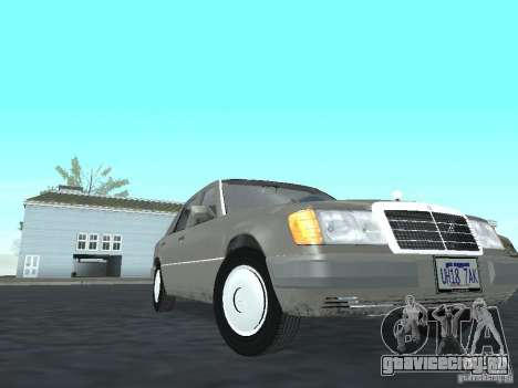 Mercedes-Benz 250D для GTA San Andreas вид сзади