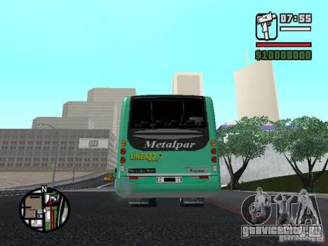Metalpar 22 для GTA San Andreas вид сзади слева