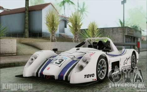 Radical SR3 RS 2009 для GTA San Andreas вид сверху