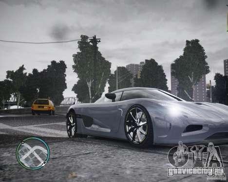 Koenigsegg Agera для GTA 4