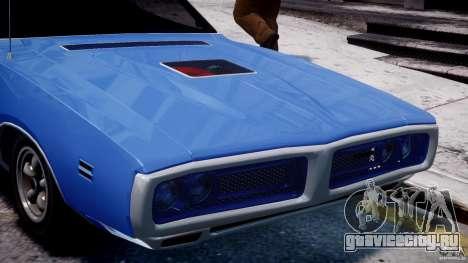 Dodge Charger RT 1971 v1.0 для GTA 4 вид снизу