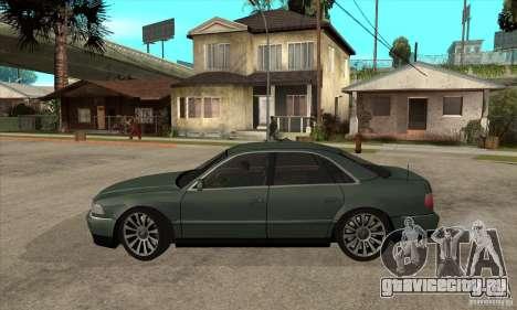 Audi A8 Long 6.0 2000 для GTA San Andreas вид слева