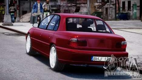 Opel Omega 1996 V2.0 First Public для GTA 4 вид сзади слева