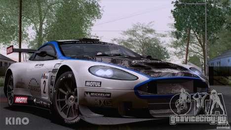 Aston Martin Racing DBRS9 GT3 для GTA San Andreas вид сверху