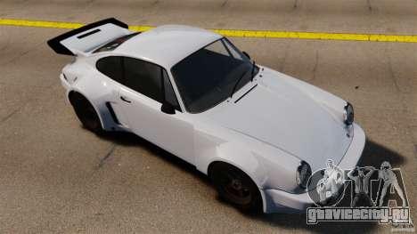 Porsche 911 Carrera RSR 3.0 Coupe 1974 для GTA 4 вид справа