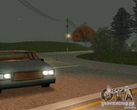 Новые дороги в San Fierro для GTA San Andreas шестой скриншот