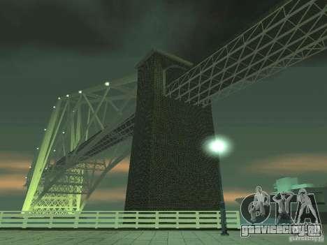 Снег v2.0 для GTA San Andreas двенадцатый скриншот