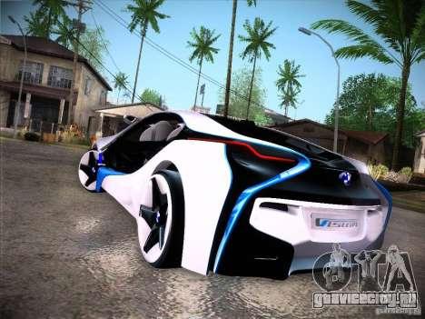 BMW Vision Efficient Dynamics I8 для GTA San Andreas вид справа