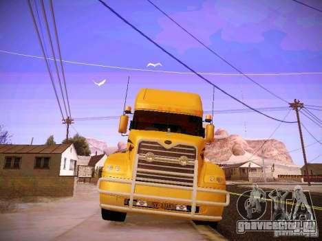 Mack Vision для GTA San Andreas вид изнутри