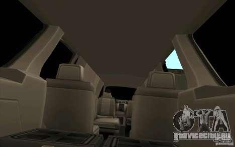 GMC Yukon 2008 для GTA San Andreas вид сбоку