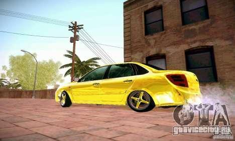 Лада Гранта GOLD для GTA San Andreas вид слева